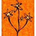 pintura decorativa flores