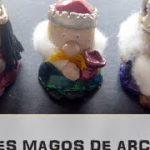 manualidades infantiles navideñas reyes magos