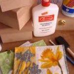 pintura decorativa con servilletas