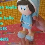 patrones muñecas goma eva picasa