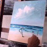 pintura sobre tela historia