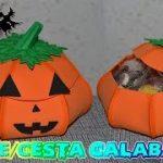calabaza halloween goma eva