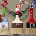 manualidades reciclables de navidad